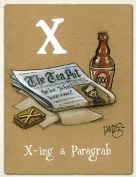 X is for X-ing A Paragrab by Disezno