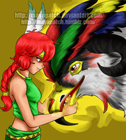 Cassandra and Thunderbird by MayaPatch