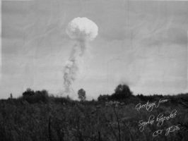 Nuclear explosion by CFJops