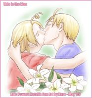 APH- Alfred and Matthew: Kiss by KaroruMetallium