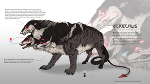 Halloween 2014 - Cerberus Chimera AUCTION - CLOSED by Capukat
