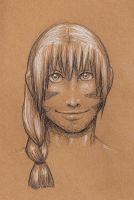 Cassius in charcoal by GrayWolfShadow
