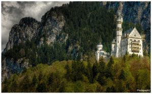 Neuschwanstein Castle - WP by superjuju29