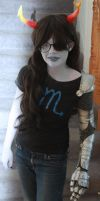 my Vriska Serket cosplay ::::) by Traumagician