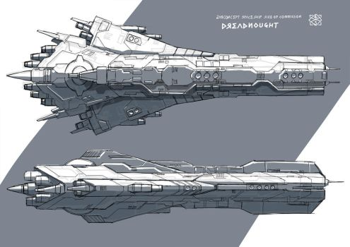 2HRconcpetOFDreadnought by 4-X-S