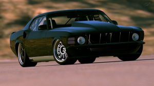 1970 Ford Mustang Trans-Cammer by GTG by Vertualissimo