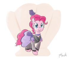 Pinkie Sharing and Caring by flak--k