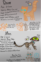 COTG OCT- Dave and Max Reference by Catmaniac8x