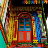 Colourful House by Sweetybee