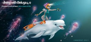 BelugaDiving4.o by MabaProduct
