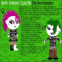 Goth Type 10 - The Deathrocker by Trellia