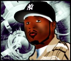 50 Cent Vector by Baloop