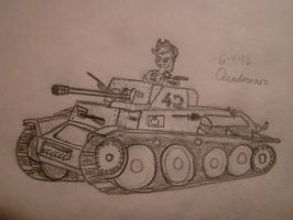 Applejack has a Panzer by Quadrenaro