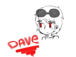 dave strider doodle by the-random-world