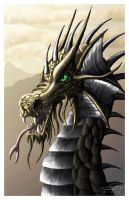 Golden Dragon by FleetingEmber