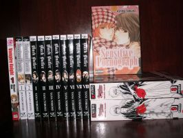 Manga Collection 1-31-2012 by OppaFaustusStyle