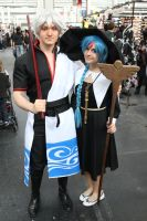Gintoki and Aladdin from Gintama and Magi by NDC880117