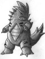 Tyranitar by Dr4gon-Of-Ch4o5