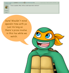 Ask Michelangelo Question-10 by Youthful-Turtle