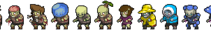 Terraria Zombies by Zapchu25