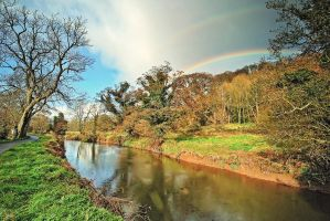 Lagan Double Rainbow, May 2009 by Gerard1972