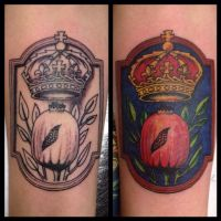 catherine of aragon family crest by Drewgovan