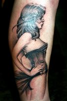 pinup tattoo by MPDesign