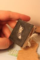 miniature steam punk style book/journal.h by izibel1