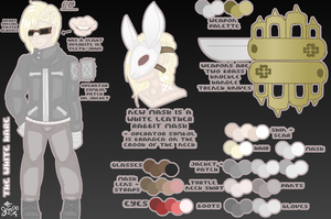 SLENDERVERSE OC REFERENCE: The White Hare by InvaderIka
