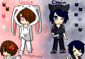 Voice and Chain Ref by CuteNikeChan