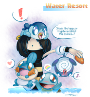 PR - Water Resort - Cookie Test by yeomaria