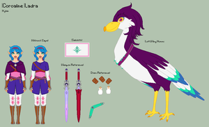 LoZ - Coroaline Reference Sheet by porcelian-doll