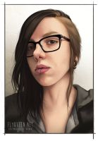 2015 Selfportrait by FlyQueen
