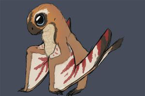 Jeholopterus Colored by Spikeheila