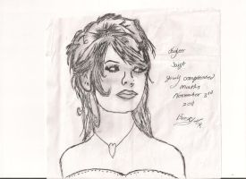 Taylor Swift by Izzy-Nightshade
