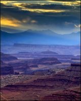 Canyonland Sunrise by papatheo