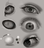 Eye Practice by gerakun87