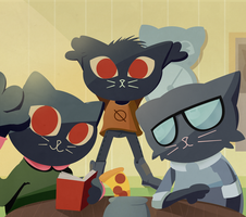 Night in the Woods by bstuffs