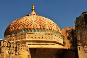 Amber Fort dome 1, Jaipur by wildplaces