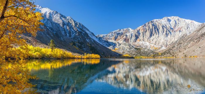 Convict lake pano by tassanee
