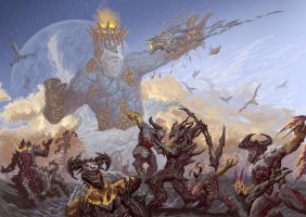 The Ichor of a God will Taint the Barren Soil by SaneKyle