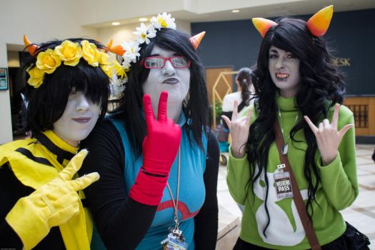 homestuck group 2 by ghousel