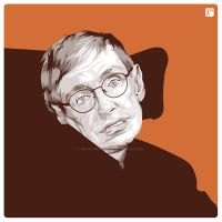 Stephen Hawking by monsteroftheid