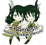 THANK YOU!! 5k pageview! by KuRiKo07