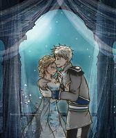 Jack Frost and Elsa: Winter's Heart by BlueStorm-Studio