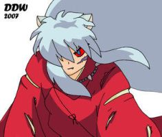 Full Demon Inuyasha By: DDW by YoukiClub