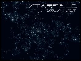Starfield Brush Set by gvalkyrie