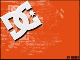 DC Shoe logo mini wallpaper by freddijs