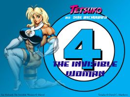 Tetsuko as 'Invisible Woman' by DavidCMatthews