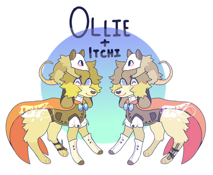 Feral Ollie Ref by midighost